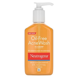 Neutrogena Oil-Free Acne Wash Salicylic Acid Acne Treatment- 6 fl oz