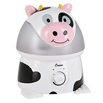 Crane Adorable Ultrasonic 1 Gallon Humidifier, Cow- 1 ea