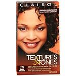 Clairol Textures & Tones Hair Color, Dark Brown 2N- 1 ea