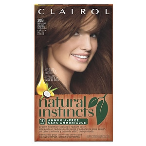 Clairol Natural Instincts Haircolor, Medium Warm Brown 20B
