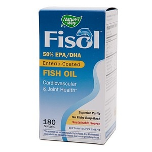 Nature's Way Fisol Fish Oil, Softgels