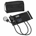 MatchMates Aneroid Sphygmomanometer Kit - Black