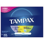 Tampax Tampons with Cardboard Applicator, MultiPax, 54 ea