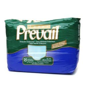 Prevail Super Protective Underwear, Medium, For Women and Men- 18 ea