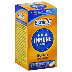 Ester C Vitamin C Supplement, Coated Tablets- 90 ea