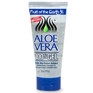 Fruit Of The Earth Aloe Vera 100% Gel, Crystal Clear
