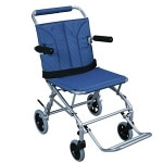 Drive Medical Super Light Folding Transport Wheelchair with Carry Bag, 18 Inch- 1 ea
