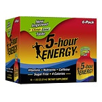 5-Hour Energy Shot, 6 pk, Citrus Lime- 1.93 oz