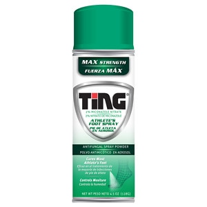 Ting Foot & Jock Itch, Antifungal Spray Powder- 4.5 oz