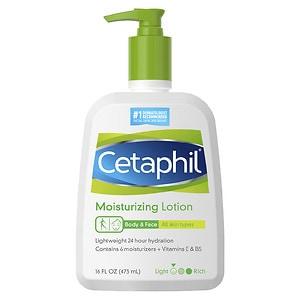 Cetaphil Moisturizing Lotion, Fragrance Free- 16 fl oz