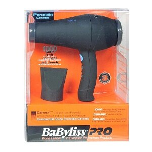 BaByliss PRO Carrera2 Porcelain Ceramic Hair Dryer