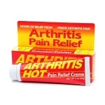 Arthritis Hot Deep Penetrating Pain Relief Creme- 3 oz