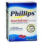 Phillips Stool Softener, Liquid Gels- 60 ea