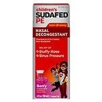 Sudafed PE Children's, Non-Drowsy Nasal Decongestant, Raspberry