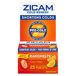 Zicam Cold Remedy RapidMelts, Citrus- 25 ea