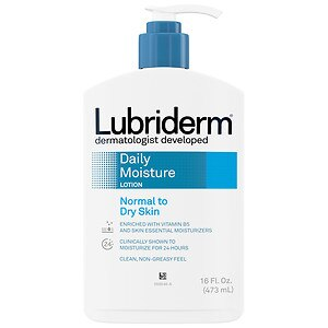 Lubriderm Daily Moisture Lotion for Normal to Dry Skin, 16 fl oz