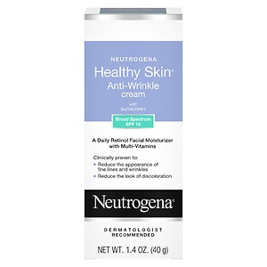 Neutrogena Healthy Skin Anti-Wrinkle Cream with Sunscreen, SPF 15- 1.4 oz