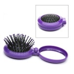 Body Benefits Pop-Up Hairbrush with Mirror- 1 ea