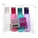 Mon Image 3 oz Travel Bottle Pack, Set of 4- 1 set