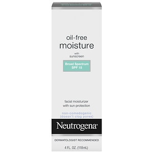 Neutrogena Oil Free Moisture, SPF 15- 4 oz