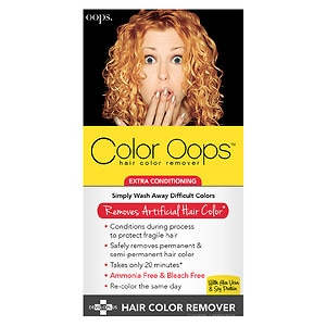Color Oops Hair Color Remover, Extra Conditioning- 1 Application