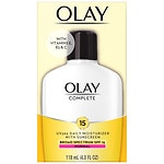 Olay Complete All Day Moisturizer with Vitamins E & B3 UV Skin Shield SPF 15 Lotion