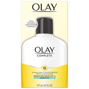 Olay Complete All Day Moisturizer with Broad Spectrum SPF 15, Sensitive