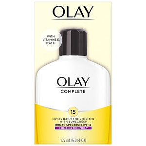 Olay Complete All Day Moisturizer with Broad Spectrum SPF 15, Combination/Oily