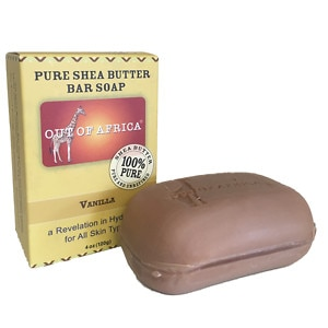 Out Of Africa Pure Shea Butter Bar Soap, Vanilla- 4 oz