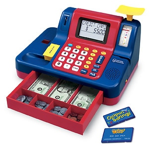 Learning Resources Teaching Cash Register Ages 3+- 1 ea