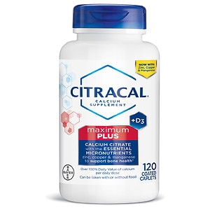 Citracal Calcium Citrate with Vitamin D Maximum, Coated Tablets- 120 ea
