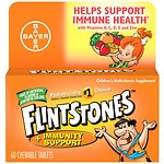 Flintstones Children's Multivitamin plus Immunity Support, Chewable Tablets, Orange- 60 ea