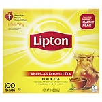 Lipton Black Tea Bags, 100 pk- .08 oz