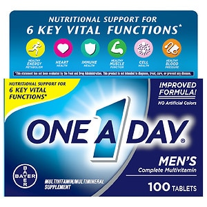 One A Day Men's Health Formula Tablets