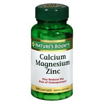 Nature's Bounty Calcium Magnesium Zinc, Tablets