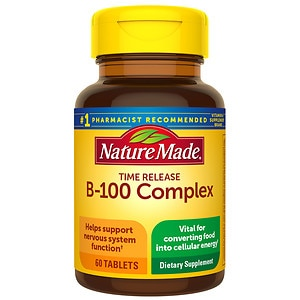 Nature Made Balanced B-100 Complex, Tablets