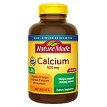 Nature Made Calcium 500mg with Vitamin D 400 IU, Tablets