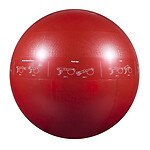 GoFit 1200lb Professional Core Stability Ball, 65 cm, Red