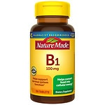 Nature Made Vitamin B-1 Tablets- 100 ea