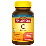 Nature Made Vitamin C, 1000mg, Tablets- 100 ea