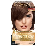 L'Oreal Paris Preference Fade Defying Color & Shine System, Permanent, Medium Amber Copper Brown 5 1/2 AM- 1 ea