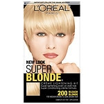 L'Oreal Paris Super Blonde Creme Lightening Kit, Bleach Blonde- 1 ea