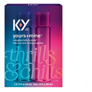 K-Y Yours+Mine Couples Lubricants 3 fl oz