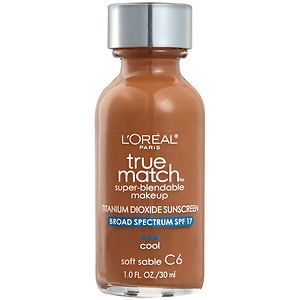 L'Oreal Paris True Match Foundation, Soft Sable C6