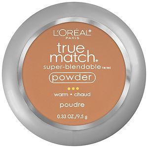 L'Oreal Paris True Match Super-Blendable Powder, Caramel Beige W7- .33 oz