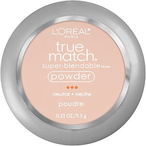 L'Oreal Paris True Match Super-Blendable Powder, Soft Ivory N1- .33 oz