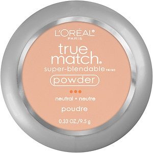 L'Oreal Paris True Match Super-Blendable Powder, Natural Buff N3- .33 oz