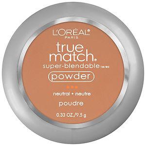 L'Oreal Paris True Match Super-Blendable Powder, Classic Tan N7- .33 oz