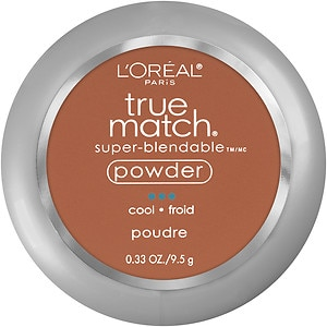 L'Oreal Paris True Match Super-Blendable Powder, Nut Brown C7- .33 oz