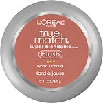 L'Oreal Paris True Match Super-Blendable Blush, Soft Sun W7-8